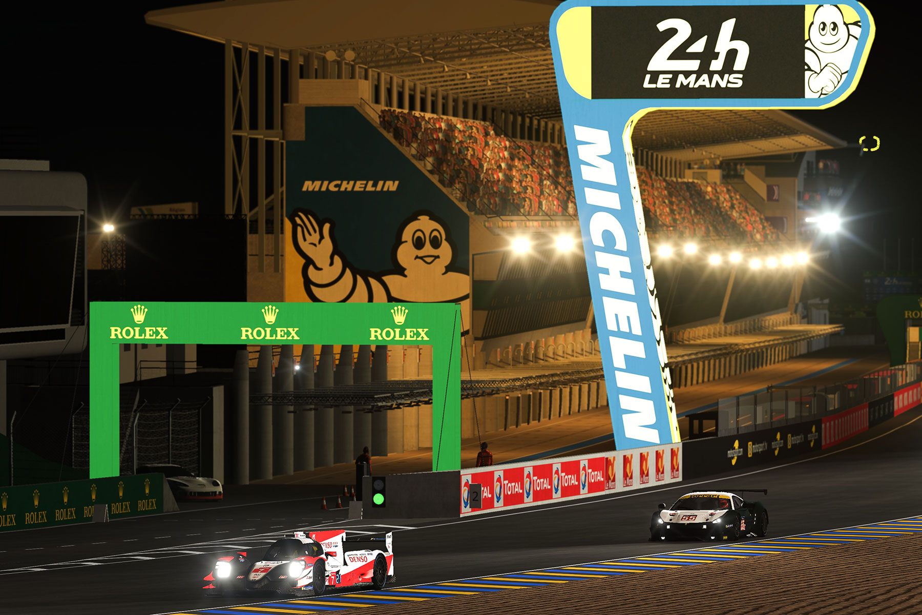 Le Mans 24 Hours Virtual - Live and Racecard