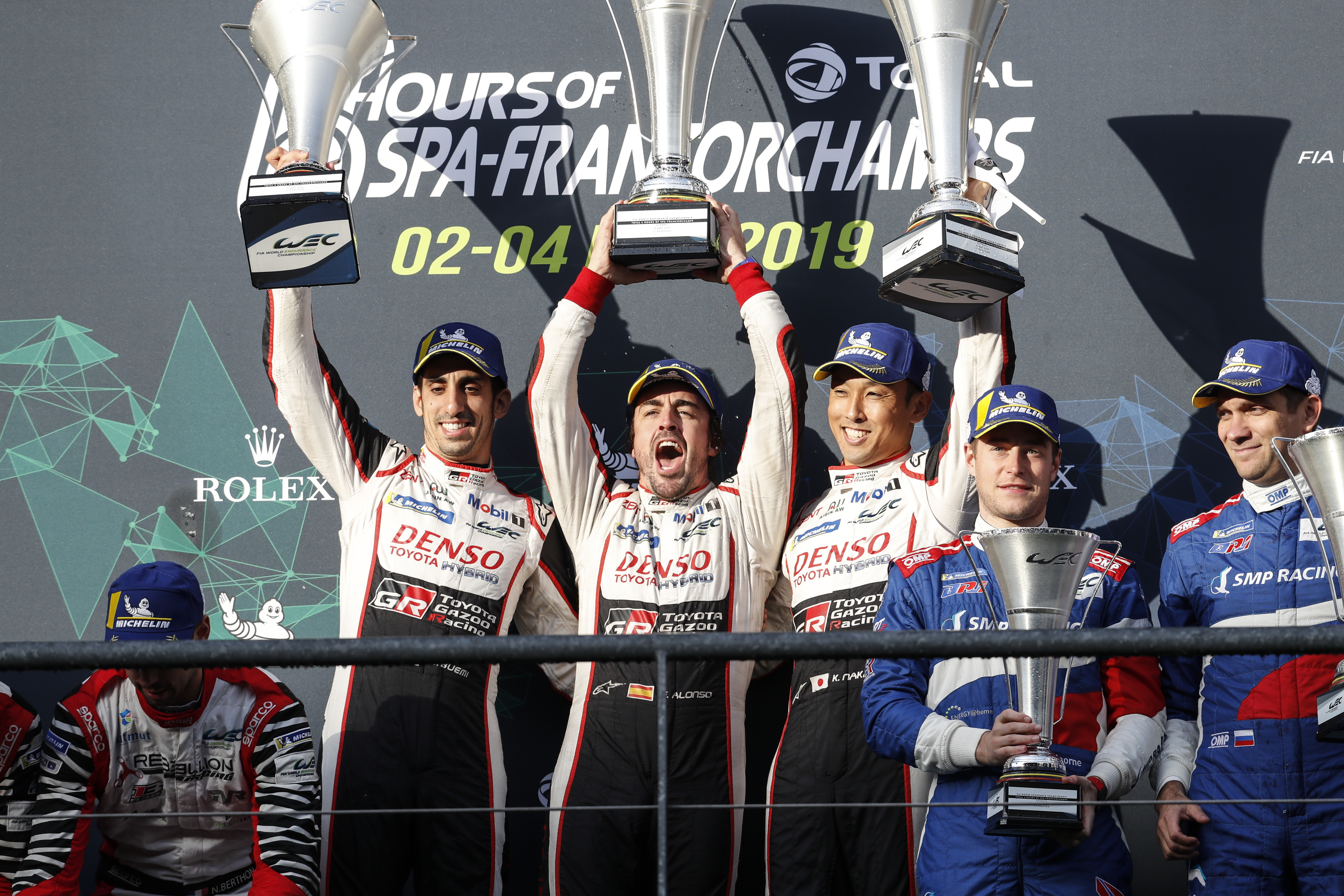 Second Spa success for the N°8 Toyota/Michelin!