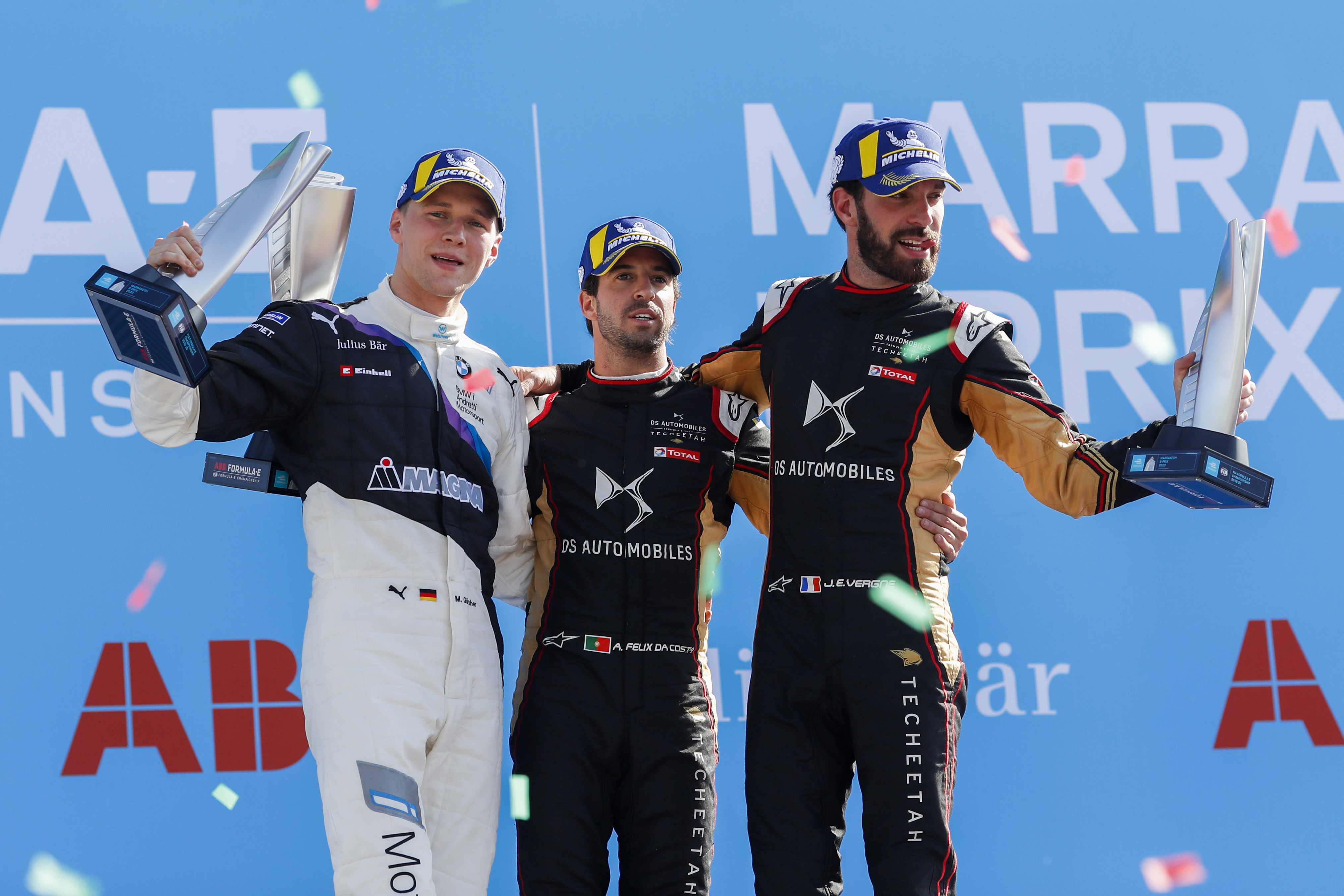 Da Costa (DS Techeetah/Michelin) takes Marrakech laurels