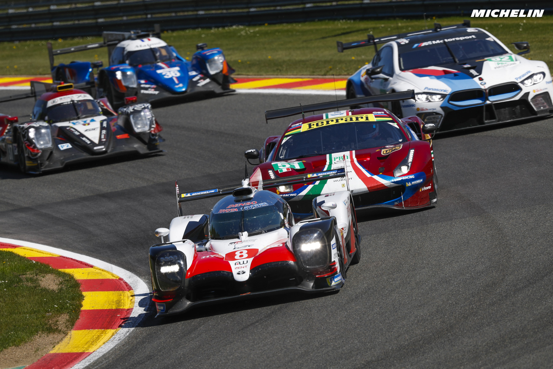 FIA WEC - 6 Hours of Spa - Racecard