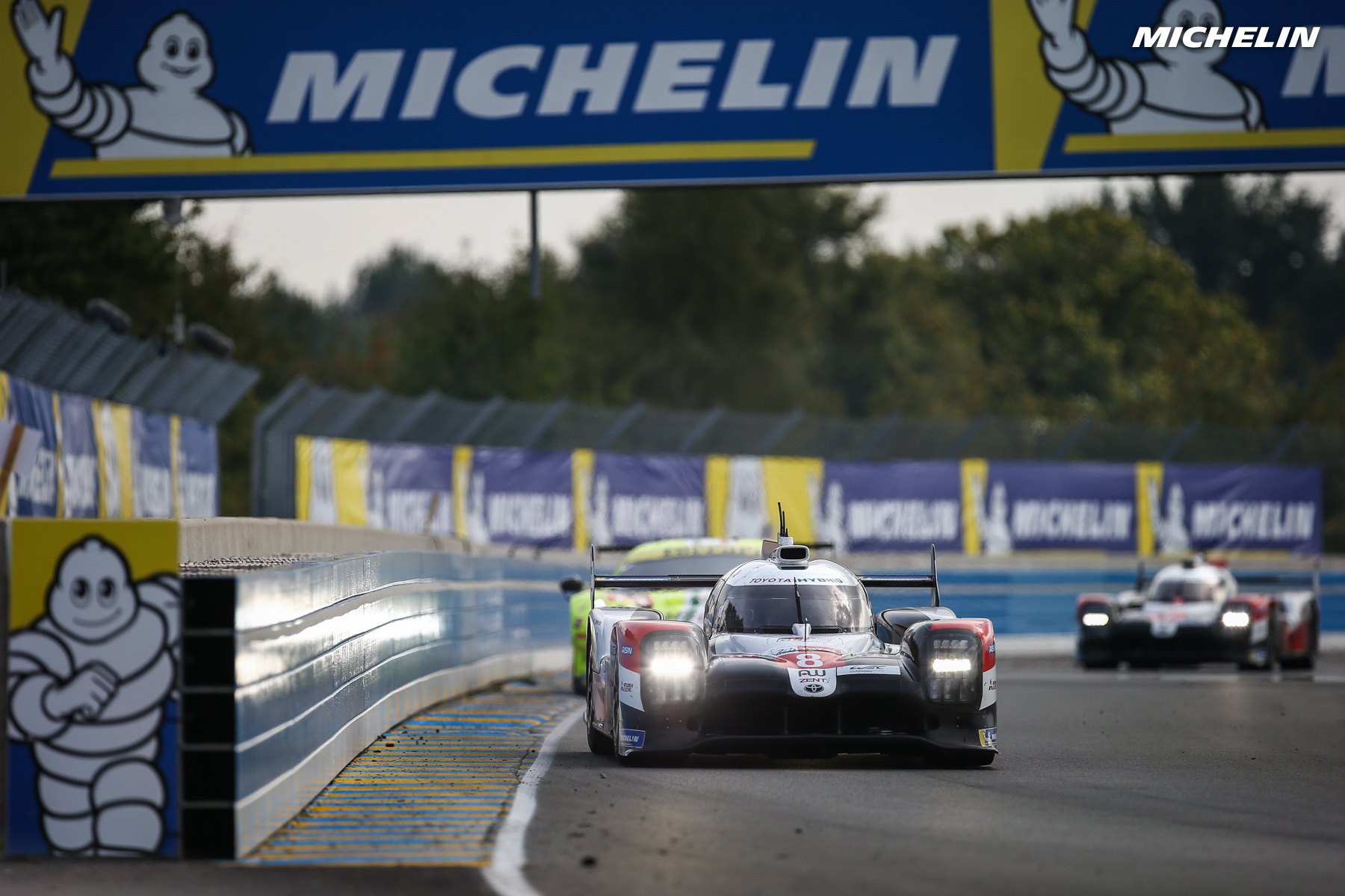 Toyota and Michelin score Le Mans hat trick!
