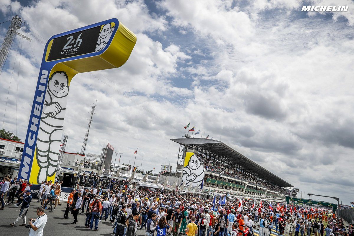 Invited entries for Le Mans 2019