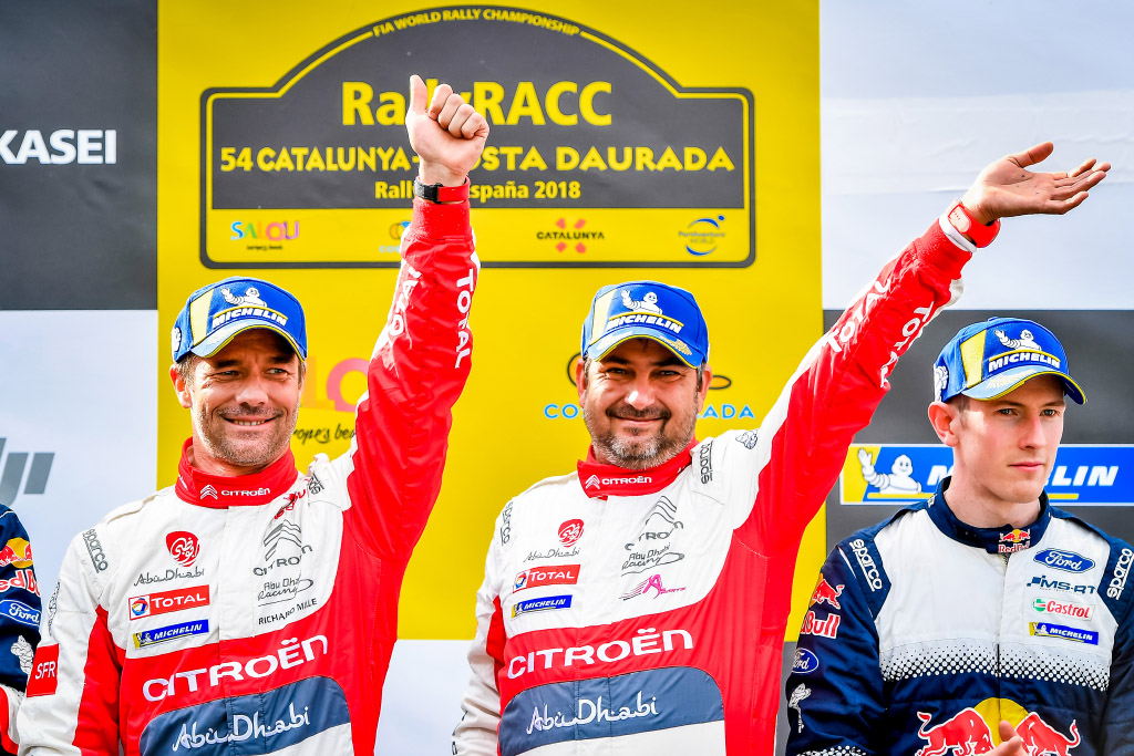 Loeb, Citroën and Michelin return to their winning ways!