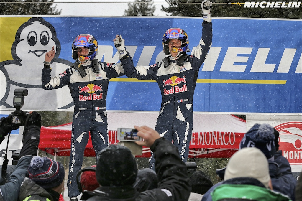 A fourth Monte Carlo victory for Ogier on Michelin rubber!