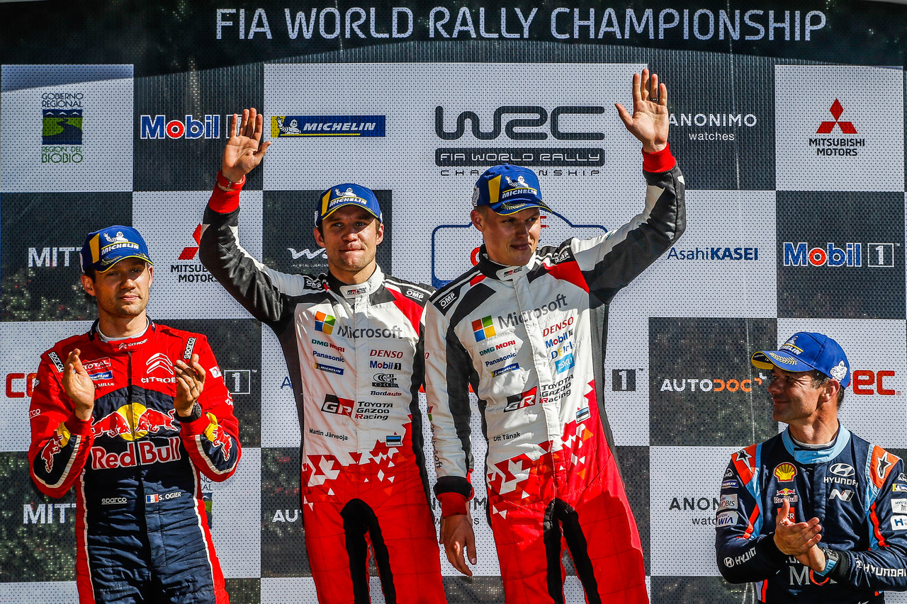 Tänak earns Michelin's 333rd WRC victory