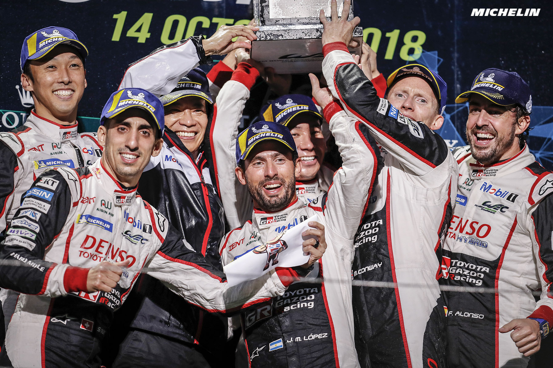 One-two success at home for Toyota!