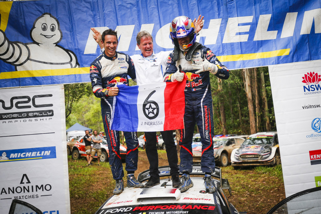 Sixth WRC title for Ogier and Toyota's fourth, all with Michelin