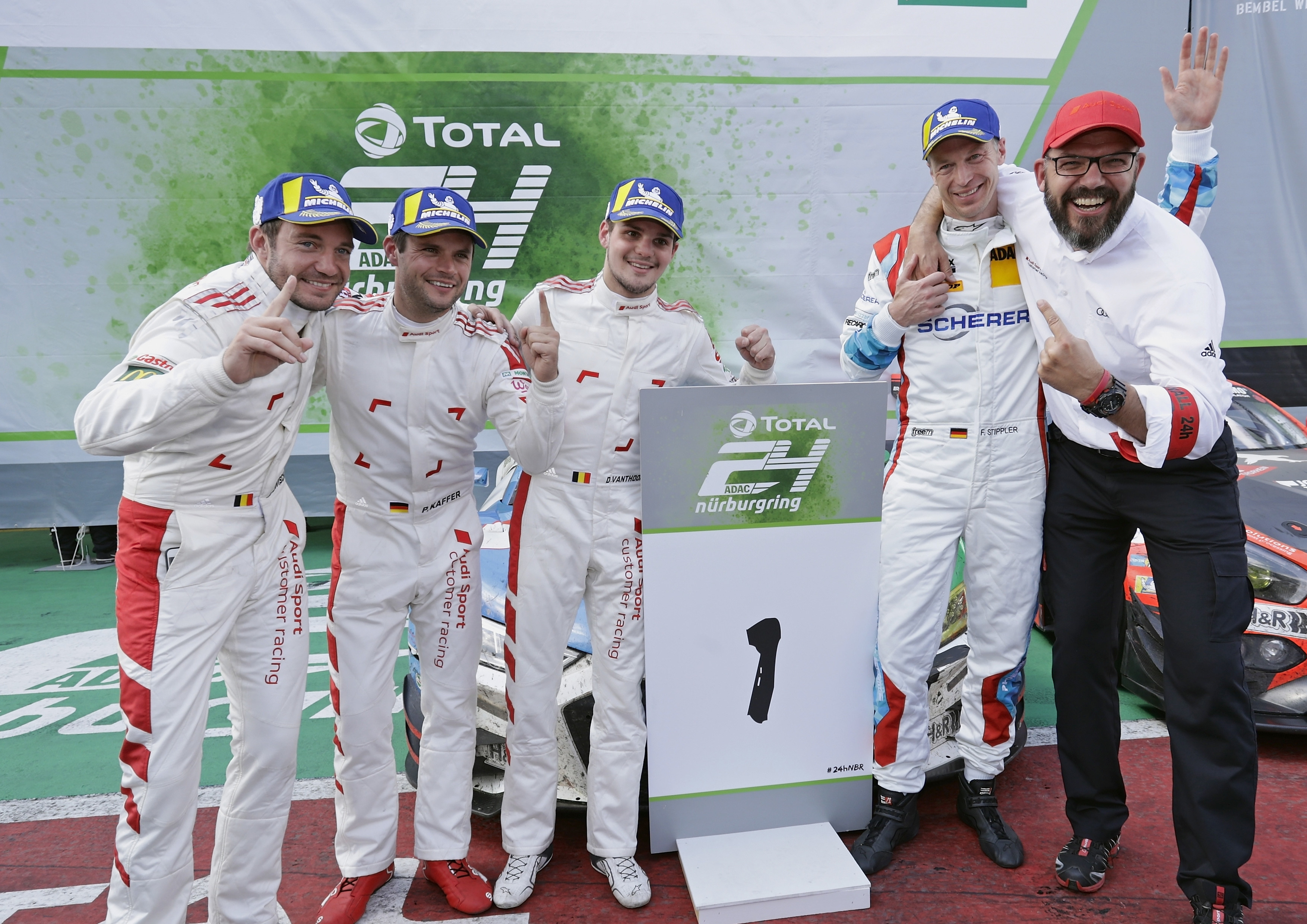 The Nürburgring 24 Hours delivers all-Michelin podium