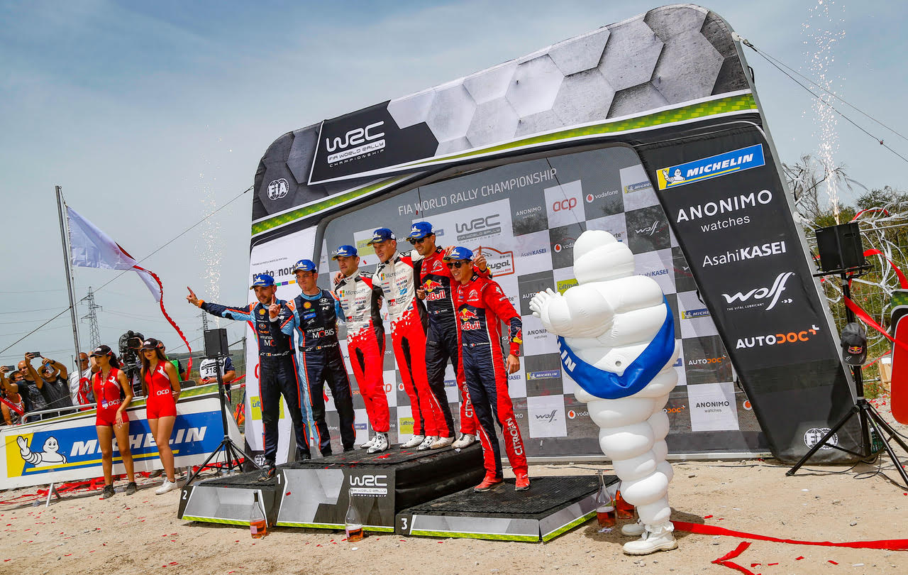 Portugal glory for Toyota/Michelin