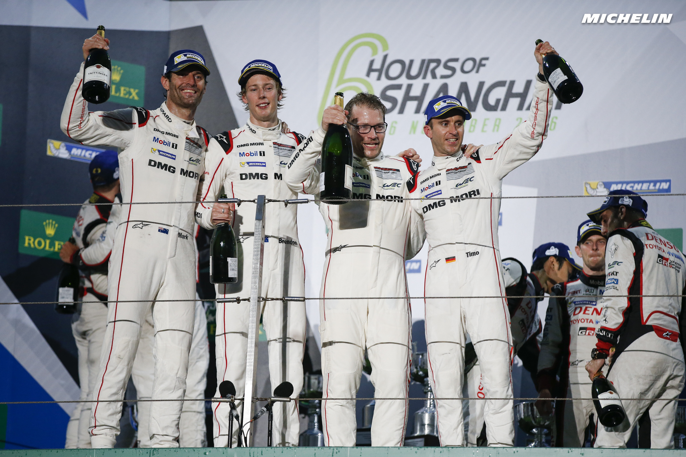6 Hours of Shanghai (WEC): victory and title honours for Porsche/Michelin
